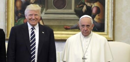 donald-trump-papa-francisco-